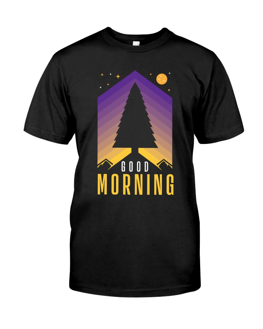 Good Morning Premium Fit Mens Tee