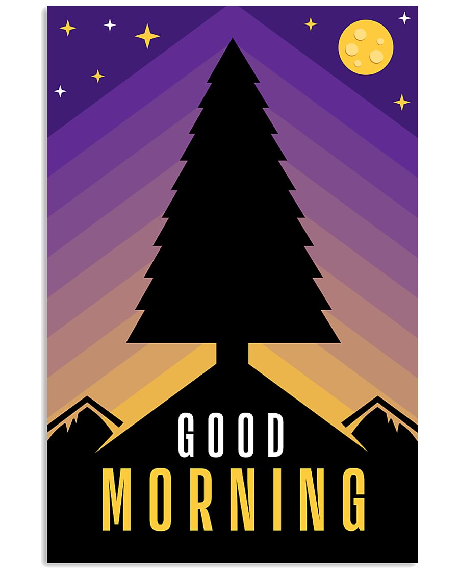 Good Morning 24x36 Poster