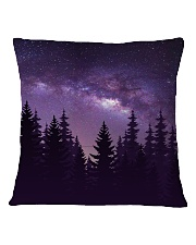 Starry Forest Square Pillowcase back