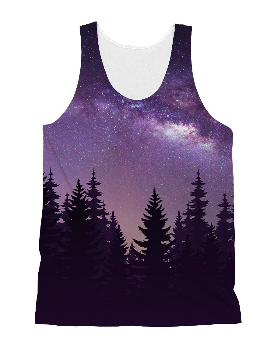Starry Forest All-over Unisex Tank