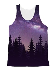 Starry Forest All-over Unisex Tank front