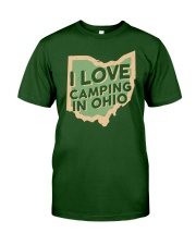 I Love Camping in Ohio Classic T-Shirt thumbnail