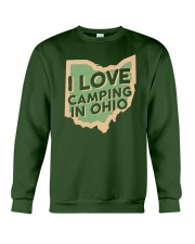 I Love Camping in Ohio Crewneck Sweatshirt thumbnail