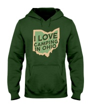 I Love Camping in Ohio Hooded Sweatshirt thumbnail