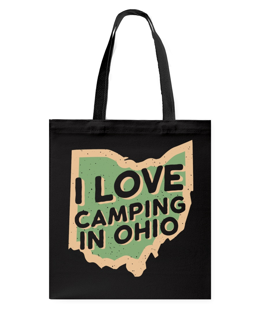 I Love Camping in Ohio Tote Bag