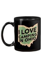 I Love Camping in Ohio Mug back