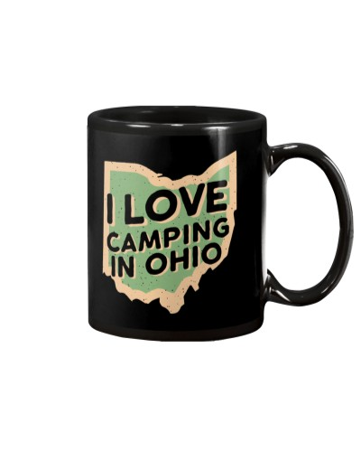 I Love Camping in Ohio