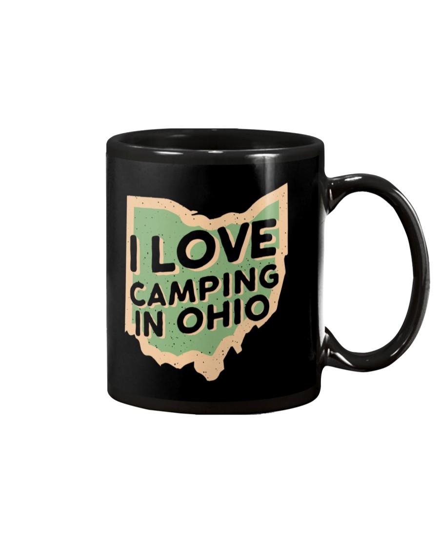 I Love Camping in Ohio Mug
