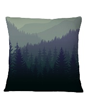 Green Forest Square Pillowcase thumbnail