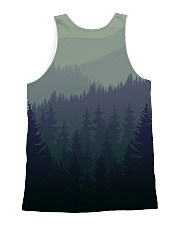 Green Forest All-over Unisex Tank back