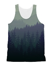 Green Forest All-over Unisex Tank thumbnail