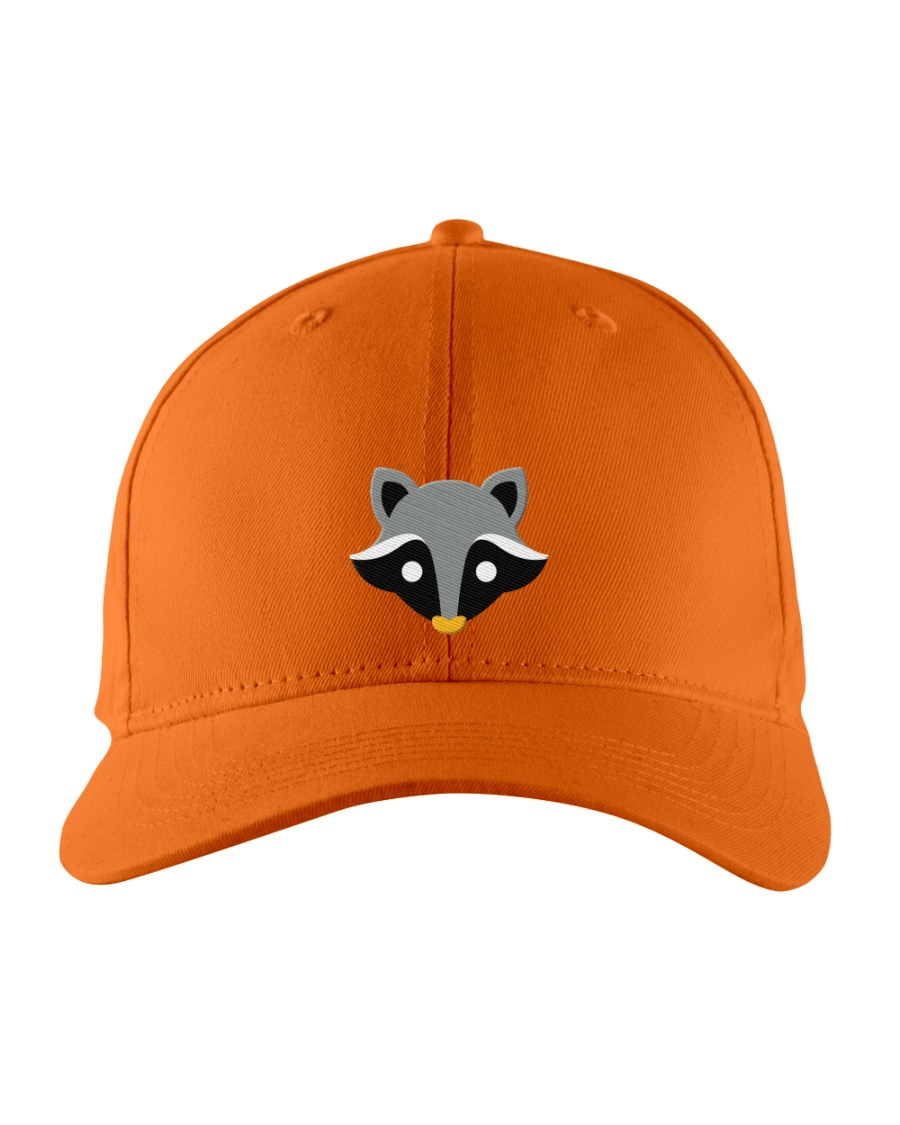 Little Racoon Embroidered Hat