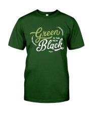 Green is the New Black - White Version Classic T-Shirt thumbnail
