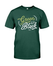 Green is the New Black - White Version Premium Fit Mens Tee thumbnail