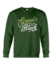 Green is the New Black - White Version Crewneck Sweatshirt thumbnail