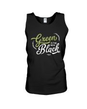 Green is the New Black - White Version Unisex Tank thumbnail