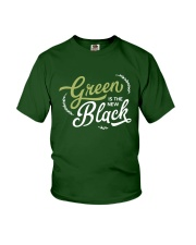 Green is the New Black - White Version Youth T-Shirt thumbnail