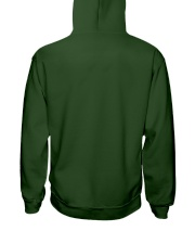 Green is the New Black - White Version Hooded Sweatshirt back