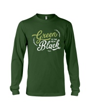 Green is the New Black - White Version Long Sleeve Tee thumbnail