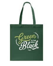 Green is the New Black - White Version Tote Bag thumbnail