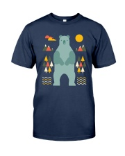 Bear in the Forest Classic T-Shirt front