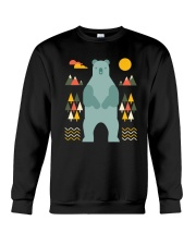 Bear in the Forest Crewneck Sweatshirt thumbnail
