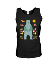 Bear in the Forest Unisex Tank tile