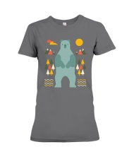 Bear in the Forest Premium Fit Ladies Tee thumbnail