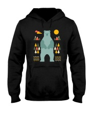 Bear in the Forest Hooded Sweatshirt tile