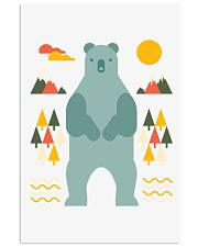 Bear in the Forest Vertical Poster tile
