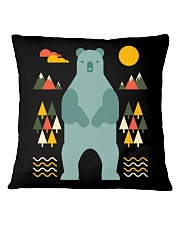 Bear in the Forest Square Pillowcase thumbnail