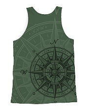 Vintage Compass All-over Unisex Tank back