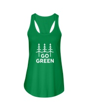 Go Green Ladies Flowy Tank thumbnail
