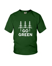 Go Green Youth T-Shirt thumbnail
