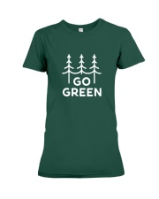 Go Green Premium Fit Ladies Tee thumbnail