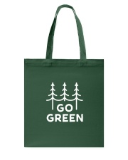 Go Green Tote Bag thumbnail