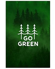 Go Green 24x36 Poster front