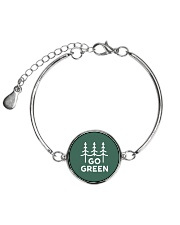 Go Green Metallic Circle Bracelet thumbnail
