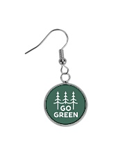 Go Green Circle Earrings thumbnail