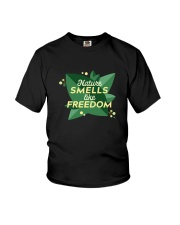 Nature Smells Like Freedom Youth T-Shirt thumbnail