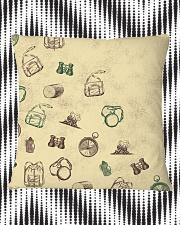 Vintage Hiking Square Pillowcase aos-pillow-square-front-lifestyle-7