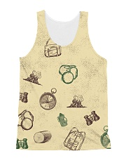 Vintage Hiking All-over Unisex Tank thumbnail