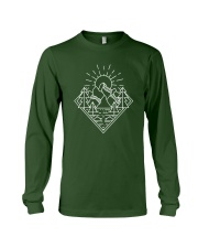 Sun Rising Lineal Art Long Sleeve Tee thumbnail