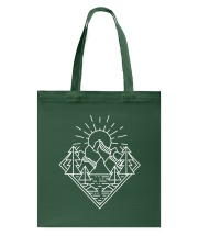 Sun Rising Lineal Art Tote Bag thumbnail