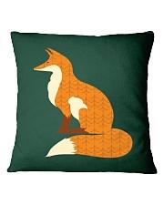 Fox Square Pillowcase front