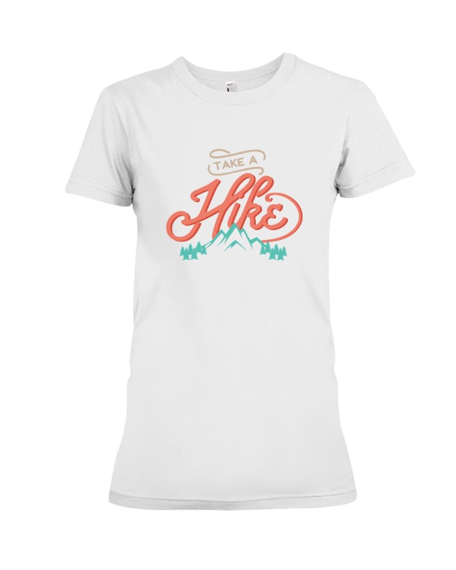Take a Hike Premium Fit Ladies Tee