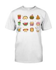 Cute Food Characters - Love Food Design Classic T-Shirt thumbnail