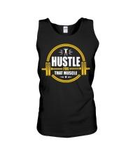 Hustle For That Muscle - Motivation Gym Training Unisex Tank thumbnail