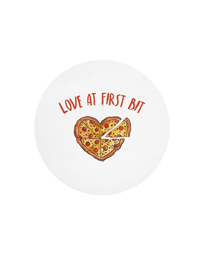 Love At First Bite - Funny Pizza Slice Food