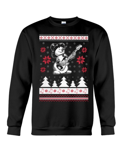 Bassist Ugly Christmas Sweatshirt